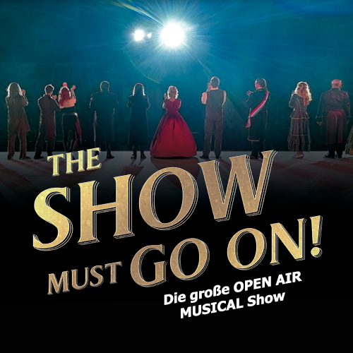 Logo The Show Must Go On!